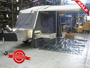 CAMPER TRAILER SINGLE AXLE FULLY EQUIPPED