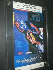 2001 Daytona 500 Ticket Stub, Dale Earnhardt Sr. Last Race Plus Turn 1 Pass