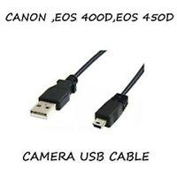 1M USB cable de transferencia de datos de plomo para Canon EOS 4000D 80D M10 5D 6D Mark II III
