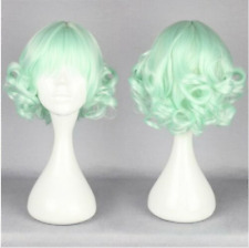Funny short Long Curly Wavy Hair Full Wigs Harajuku Anime Cosplay Party Wig gree