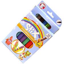 Artline Stix Colouring Marker Pens for Lego lovers, Build & Draw Pack of 16 Pens