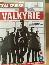 Tom Cruise Kenneth Branagh VALKYRIE ~ 2008 Plot to Kill Hitler Thriller | UK DVD