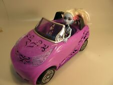 2012 Mattel Monster High Doll Scaris Car And One Doll