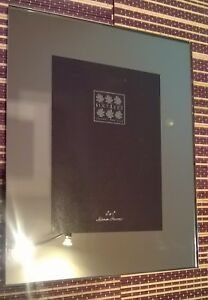 """Sixtrees Square Edge Mirror Picture Frame 5x7"""" New Boxed"""