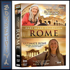 MARY BEARD ROME COLLECTION- MEET THE ROMANS & ULTIMATE ROME EMPIRE WITHOUT LIMIT