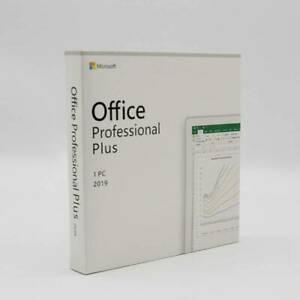 Microsoft Office 2019Professional Plus for 1 PC Key Card