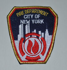 PATCH NEW YORK FIRE DEPARTMENT Vigli del fuoco NEW YORK