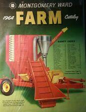 Montgomery Ward 1964 Farm Catalog FULL COLOR Garden Tractor 168pg Tool Tiller