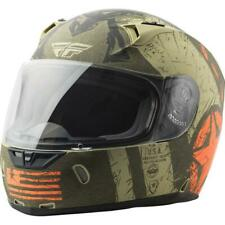 Fly Racing Revolt Liberator Full Face Street Motorcycle Helmet Matte Brown Large