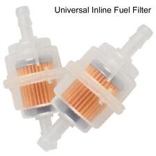 2PCS car Parts LARGE Inline Fuel Filter Auto Petrol 6mm 8mm Pipe Universal  CA