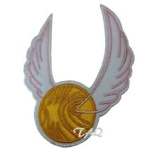 Harry Potter Quidditch Distintivo Ferro Toppa da Cucire Patch Ricamato