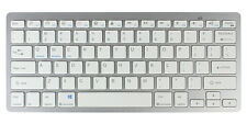 Slim Bluetooth Tastatur Wireless für iPhone iPad Apple Mac Laptop PC kebellos
