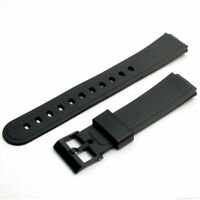 Generic WatchStrap 15mm Resin 280P4 for Casio AW30 AW33 AW34 AW35 AW35 AW43 AW51