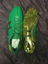 Notre Dame Under Armour 2015 RARE Shamrock Series Boston Team Issued Cleats Low