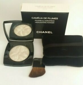 CHANEL CAMELIA DE PLUMES HIGHLIGHTING POWDER .28oz 100%AUTHENTIC LIMITED EDITION
