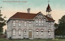 GLENCOE, Ontario, Canada, PU-1912; Public School