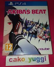 AKIBA'S BEAT LIMITED EDITION SONY PS4 PAL NEW SEALED NEUF SCELLE