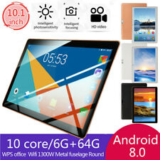 "10.1"" Inch Tablet Android 8.1 6+64GB 10 Core WIFI+3G Dual SIM Camera"