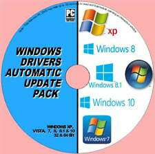 BEST AUTOMATIC WINDOWS DRIVERS UPDATES PC-DVD FOR ALL WIINDOWS 32 & 64  NEW