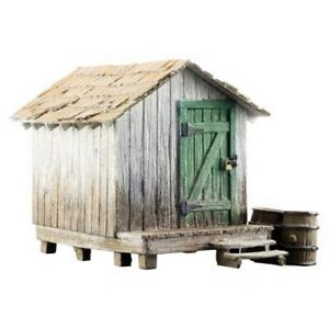 NEW Woodland Scenics BR5058 HO Scale Wood Shack Train Structure