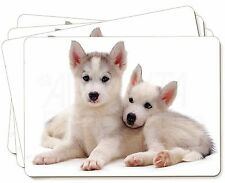 Siberian Huskies Picture Placemats in Gift Box, AD-H60P