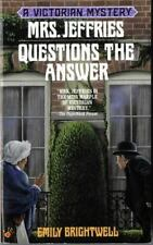 Mrs Jeffries Questions the Answer by Emily Brightwell