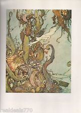 Dulac Vintage Print - The Little Mermaid - Stories From Hans Anderson