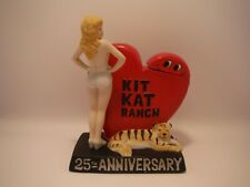 Kit Kat Ranch Decanter. Empty 25th Anniversary. Dug 93