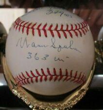 300 Win Club Autographed NL Baseball - 5 Autographs