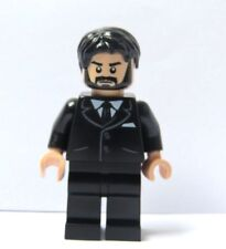 LEGO Flesh Wedding Minifigure Black Suit Beard Hair Groom Father Of Bride