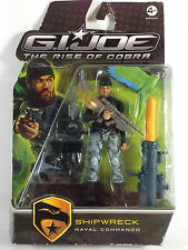 Gi Joe The Rise of Cobra Action Figure SHIPWRECK Naval Commando 2009 Hasbro New