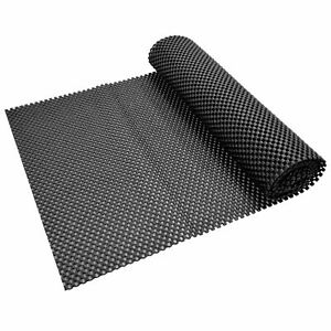 Non Slip Mat 100cm x 30cm Roll Anti Slip Grip Mat Hundreds of Uses UK Black