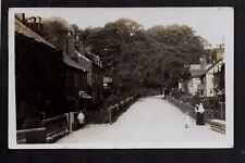 Walton Green, Walton le Dale near Preston - real photographic postcard