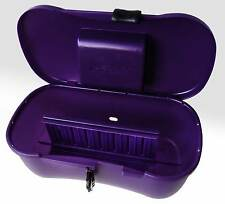 Joyboxx Lockable Locking Adult Sex Toys Chest Storage Privacy Box Hygenic Purple