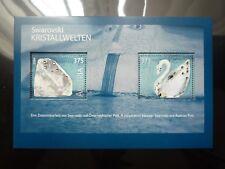 Swarovski Souvenir Miniature Stamp Sheet MNH 2004 Austria Kristallwelten Collect