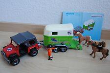 Playmobil 4189 - Geländewagen mit Pferdeanhänger