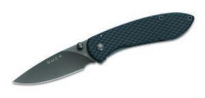 Buck Knives 327 Nobelman, Carbon Fiber Folding Knife 327CFS