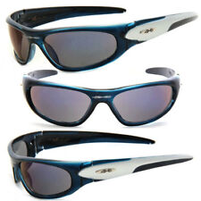 531fd4cd5f8 New XLoop Mens Womens Sports Wrap Sunglasses Transparent Blue Frame Blue  Lens