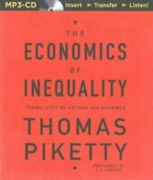 The Economics of Inequality: By Thomas Piketty -  MP3CD Audiobook