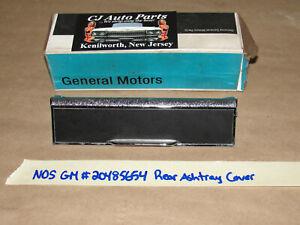 NOS GM #20485654 REAR DOOR ARMREST QUARTER PANEL ASHTRAY LID COVER TRIM