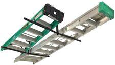 StoreYourBoard Double Ladder Ceiling Rack, Hi Port 2 Garage Storage and Organiza