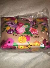 Victorias Secret Leather Floral Large Tote Bag NEW with tag