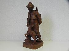sculpture sur bois Berger Bois Déco Mur Déco #85.154