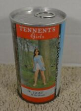 New listing Tennents Girls Vicky In The Woods Straight Steel Pull Tab 333ml Beer Can Bo