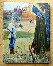 Sotheby's catalogue, RUSSIAN ART,  Volume 2, April 2007 with results