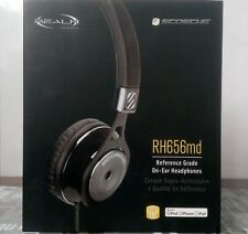 Scosche RH656 On-Ear DJ Headphones with Remote, Mic and Travel Pouch