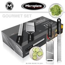 Microplane Chef Migliore Premium Grattugia Set con Gourmet Buccia di Limone e