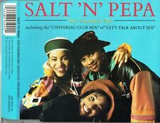 "SALT 'N' PEPA - 5""CD - You Showed Me (The Born Again Mix) + Let's Talk About Sex"