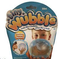 Tiny Wubble Bubble Looks like a Bubble Plays like a Ball Blue NIB