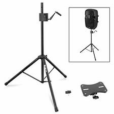 Pyle PLPTS77 Universal Speaker Stand Tripod - Equipment Mount Height Adjustable